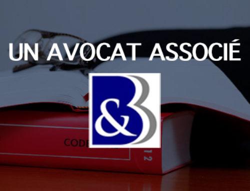 Votre dossier suivi par un avocat associé