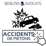 accident de piéton, piéton renversé, chauffard, avocat piéton blessé, avocat accident de voiture, avocat victime de la route, accident de circulation, indemnisation avocat