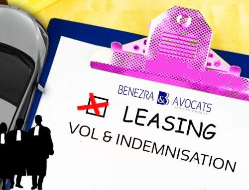 Le vol d'un véhicule en leasing ou LOA