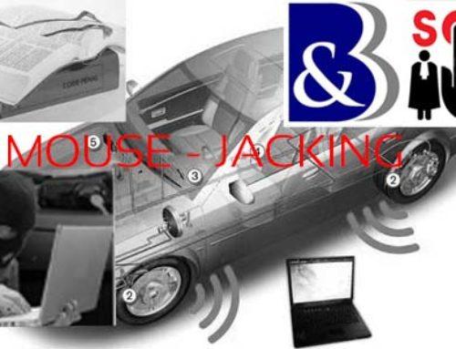 Mouse Jacking et vol de véhicule sans effraction