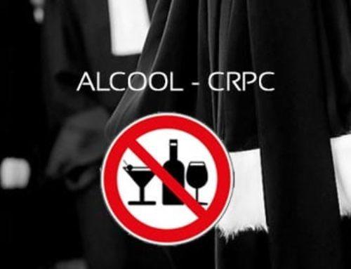 Alcool au volant et CRPC