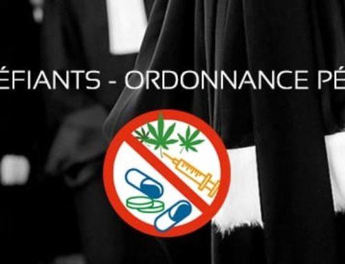 Stupéfiants et ordonnance pénale