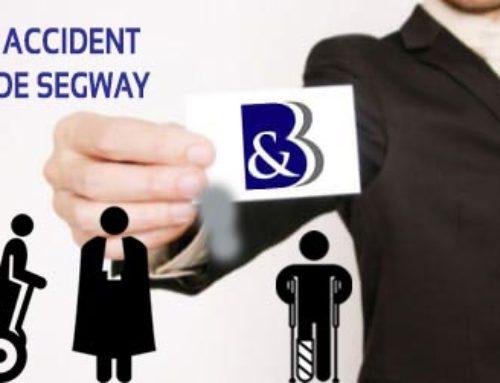Victime d'un accident de Segway