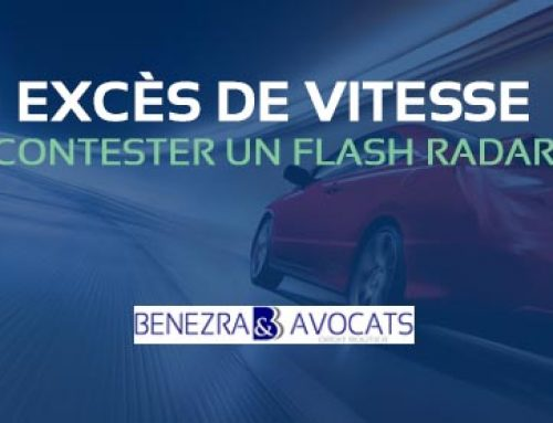 EXCÈS DE VITESSE : CONTESTER UN FLASH RADAR (PV FLASH)